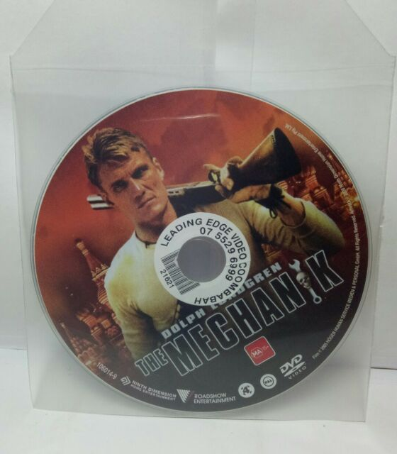 The Mechanik (DVD, 2008) R4 DVD - DISC ONLY - BULK DISCOUNT - BEST VALUE.