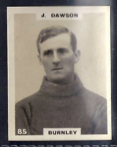 J BURNLEY DAWSON PINNACE FOOTBALL-PINNACE BACK-#0085