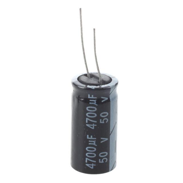 5 pz piombo 50V 4700uF radiale condensatori elettrolitici in alluminio M5P2