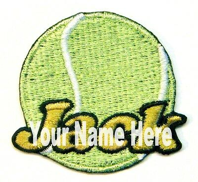 Tennis Custom Iron-on Patch Personalized Free