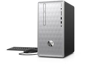 Details about HP Pavilion 590-P0030NA AMD Ryzen 3 3 5GHz Quad Core 1TB  Desktop PC - Windows 10