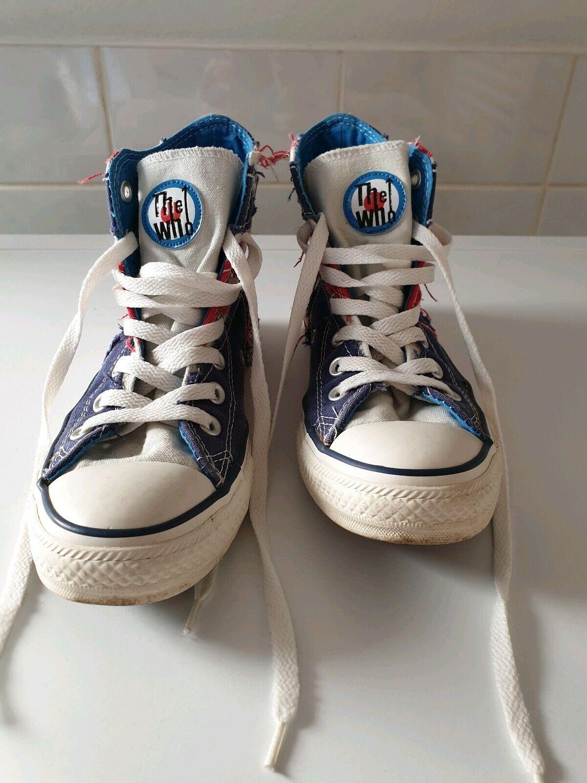 Converse  The Who  ALL Star Chucks Rarität England Flagge (UK)