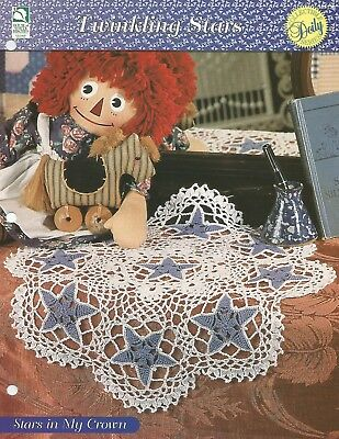 Twinkling Stars Doilies HOWB Series Wishing Star Doily Crochet Pattern
