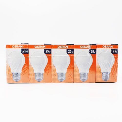 20 x OSRAM e27 ampoule 25 W Mat Ampoule 220 lm Ampoules CLAS A fr25