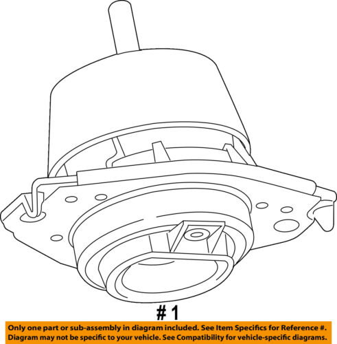 CHRYSLER OEM-Engine Torque Strut Mount 68252522AA