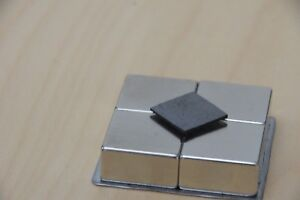 10 Pcs Pyrolytic Graphite For Magnetic Levitation 18x18x1mm With