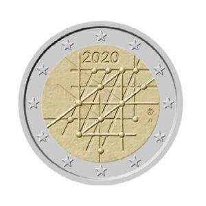 2-euro-commemorative-Finlande-2020-Universite-de-Turku