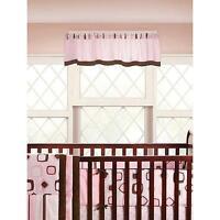 Carini Bambini Kate Baby Nursery Window Curtain Valance 72 X 15