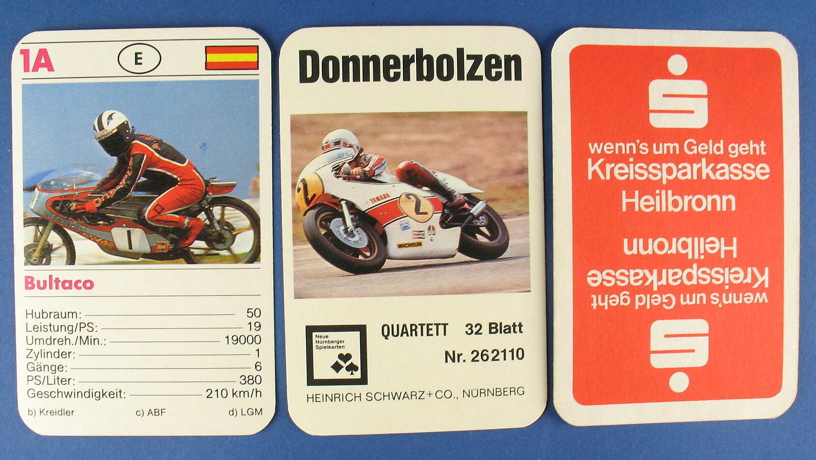 Werbe-Quartett - Donnerbolzen - Kreissparkasse Heilbronn - Nürnberger Nr. 262110