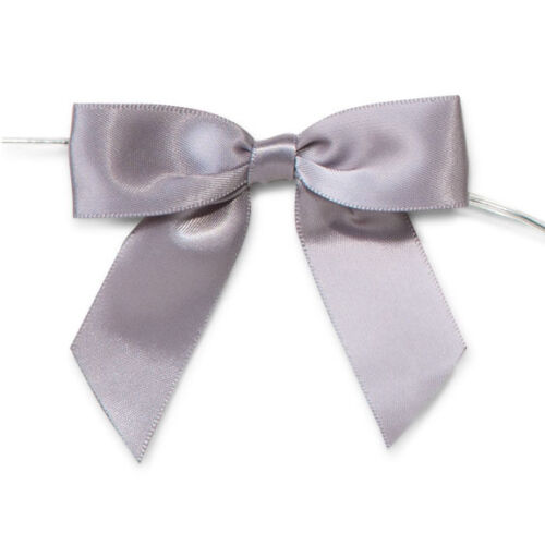 12-Count Pre-Tied Satin Bows 7//8-Inch