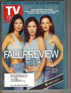 Details about JENNIFER GARNER JILL HENNESSSY KIM DELANEY LG TV Guide Mag  9/15/01 PREVIEW PC