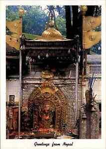 NEPAL-Postkarte-Postcard-Kathmandu-Kakhinkali-Tempelanlage-Tempel-Temple-color