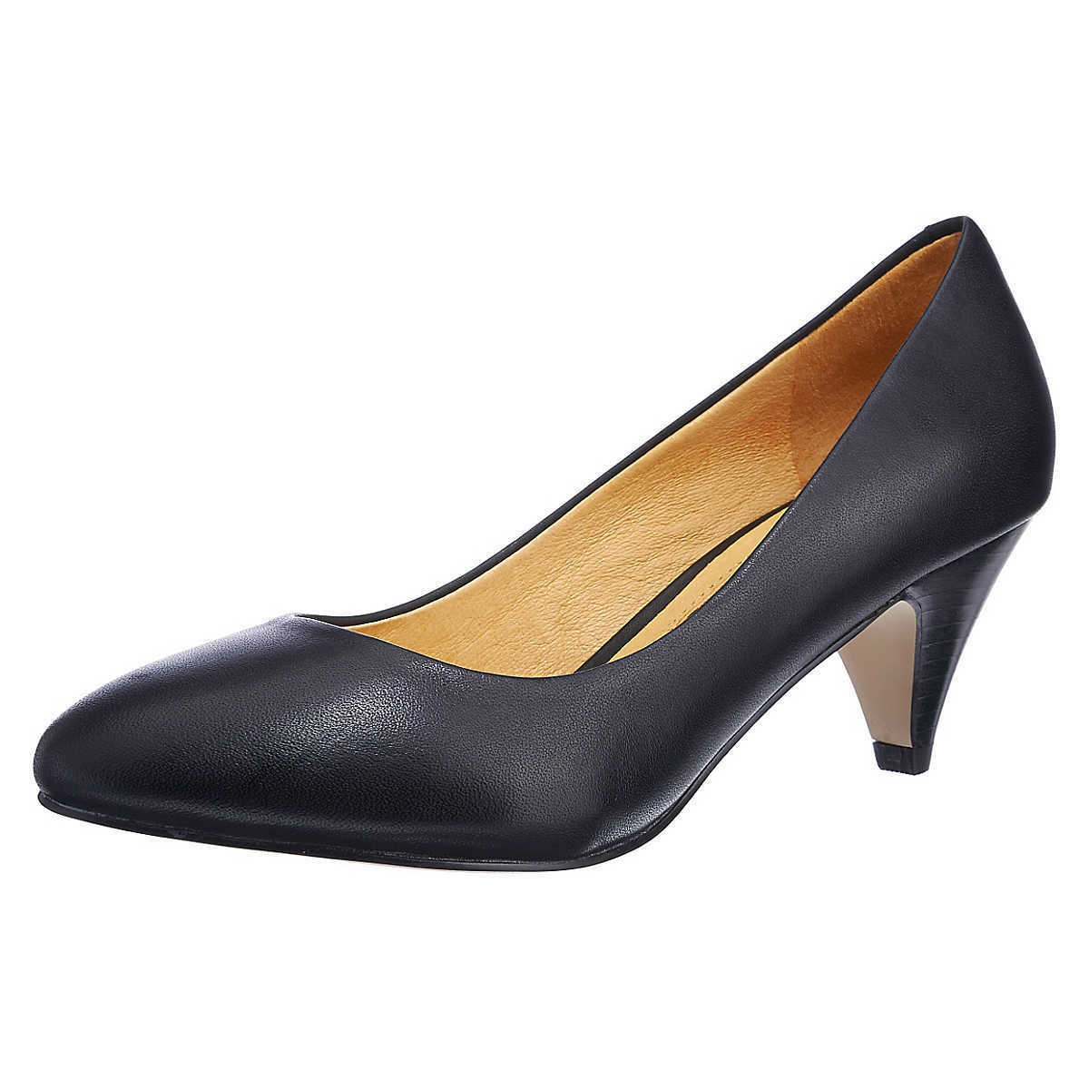 BUFFALO LONDON Damen Pumps Damenschuhe, schwarz, Gr. 37