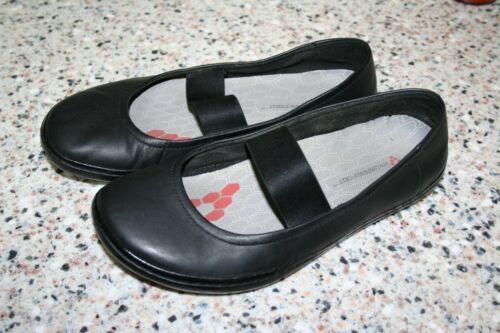 Vivobarefoot Black Leather Mary Jane Minimalist Sh