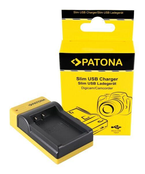2019 DernièRe Conception Patona Slim Micro-usb Chargeur F. Canon Lp-e17 Eos 750d 760d 8000d Kiss X8i Rebelle ArôMe Parfumé