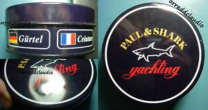 PAUL&SHARK PAUL & SHARK YACHTING SCATOLA LATTA PORTA CINTURA - Italia - PAUL&SHARK PAUL & SHARK YACHTING SCATOLA LATTA PORTA CINTURA - Italia