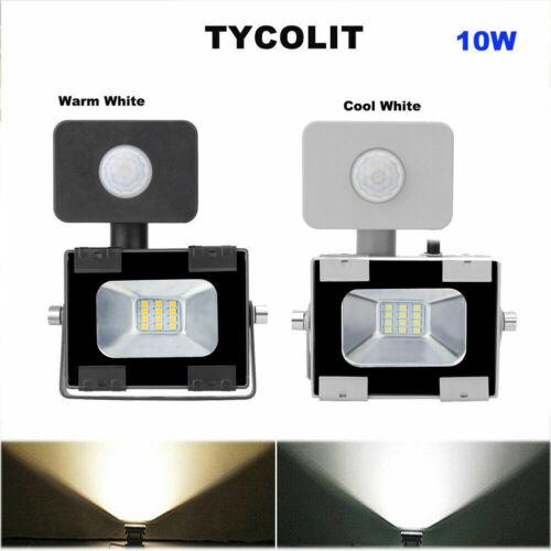 LED Fluter 100w mit Bewegungsmelder Flutlicht Scheinwerfer Aussen Strahler IP65