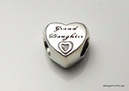 231f9f3f2 Authentic PANDORA Granddaughter's Love Charm Pink CZ 796261PCZ. +.  $34.28Brand New. Free Shipping