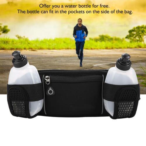Hydration Belt Bum Bag Outdoor Sports Running Riding Waist Water Bottle Holder