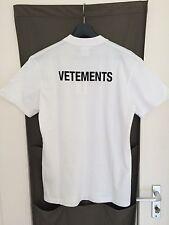 VETEMENTS Staff T-Shirt White Size XL Supreme Gosha Rubchinskiy Palace Yeezy