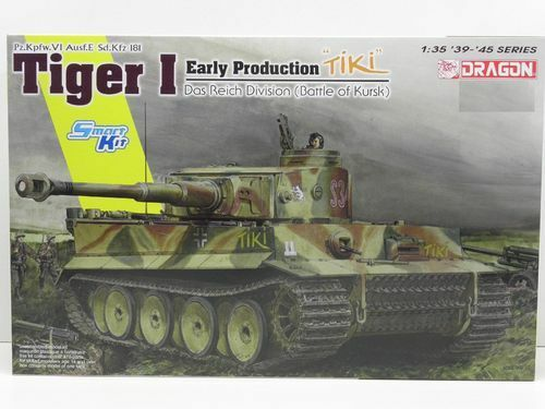 DRAGON TIGER I EARLY DAS REICH DIVISION 1 35 6885