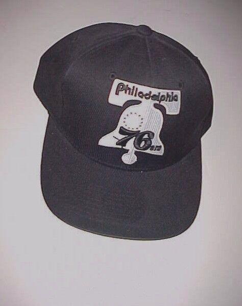 competitive price b12c9 c4110 ... promo code for philadelphia 76ers mitchell ness black nba black ness  unisex logo baseball cap one