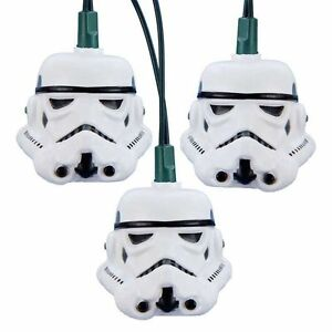 New-Disney-Star-Wars-Storm-Trooper-Stormtrooper-Helmet-Holiday-Light-Set-String