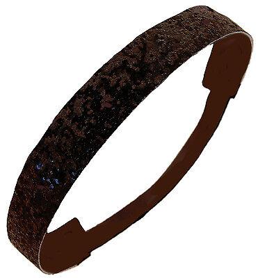 GLITTER HEADBANDS Glittery Sparkly Stretch Headband 4 Softball & Sports SPARKLE