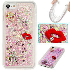 Quicksand Glitter Bling TPU Soft Silicone Back Case Skin Cover For Various Phone
