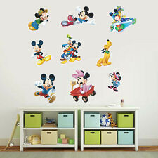 DIY Mickey Minnie Mouse Wall Sticker Vinyl Decals Kids Mural Baby Nursery  Decor Part 68