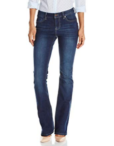 Liverpool Logan Boot Cut Orion Medium Dark bluee Stretch Jeans NWT 0 25 Petite
