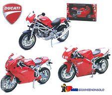 Ducati 999 Scala 1:12 Modellino Die Cast Metallo New Ray Ufficiale
