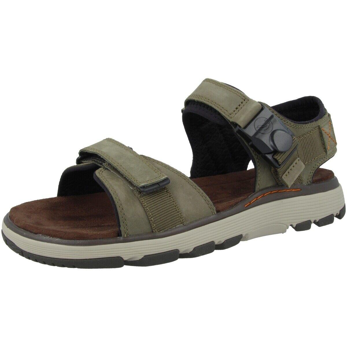 Clarks un trek part uomo  scarpe sandals hiking trail light sandal  offerta speciale