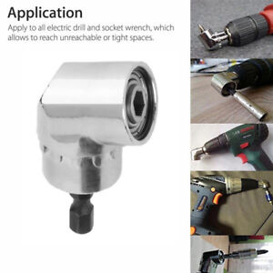 105-Angle-1-4-6mm-Extension-Hex-Drill-Bit-Screwdriver-Socket-Holder-Adaptor-New