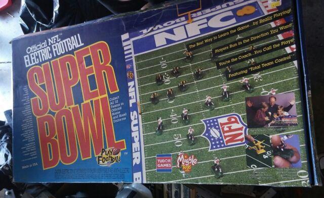 Vintage Nfl Tudor Electric Football Super Bowl Xi