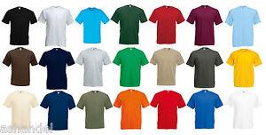 Fruit of the Loom F140 Valueweight T Shirt Herren 10er Pack S XXL 3XL 4XL 5XL