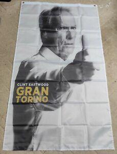 Drapeau Flag Bannière, Clint Eastwood Gran Torino, neuf