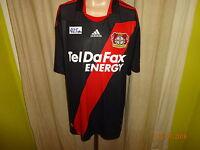"""Bayer 04 Leverkusen Adidas Auswärts Trikot 2010/11 """"Tel Da Fax"""" Gr.XL- XXL Neu"""
