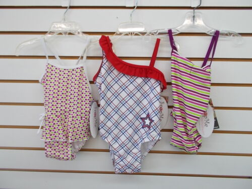 4T Infant /& Toddler Girls Snap Me Assorted One Piece Swimsuits Size 6//9 Months