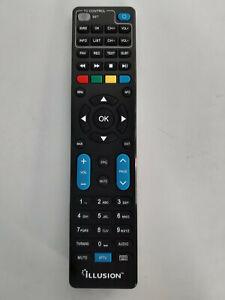 MANDO-A-DISTANCIA-RECEPTORES-ILLUSION-SA600-FUNCION-UNIVERSAL-TV-ORIGINAL