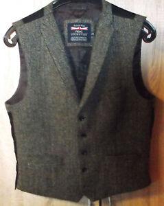 Next British Wool Herren Weste Wolle 42R  107cm
