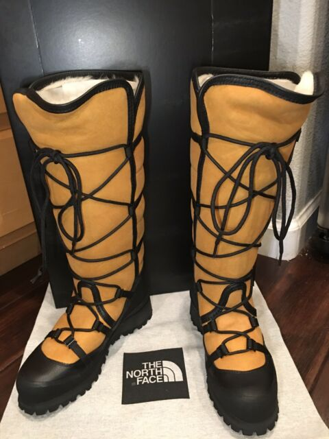 077a14991 The North Face CRYOS Women's 9 Tall BOOTS Winter Sheepskin Original