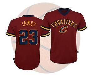 043a68658 NBA Teen Boys Basketball Mesh Fashion Short Sleeve Shirt Cavaliers ...