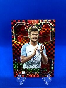 ERIC DIER (England) RED Checkerboard Prizm - Panini Select 2017-18 #47