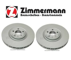 For-Porsche-Macan-Disc-Brake-Rotor-360mm-Pair-Set-of-Front-Left-amp-Right-ZIMMERMANN