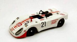 Porsche 908 Flunder # 21 10ème 1000 Km Monza 1971 Brambilla Mati Wiki 1:43 Modèle