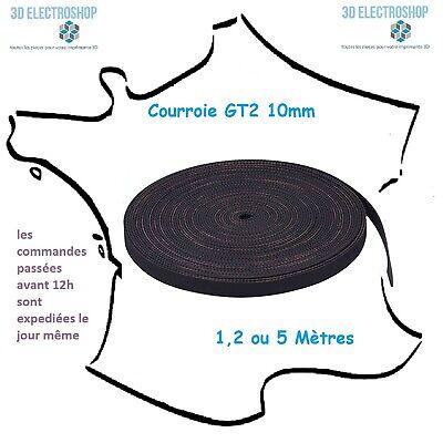 Courroie Gt2 10mm Pas 2mm (1,2 Ou 5m) Imprimante 3d Timing Belt 3d Print Squisita (In) Esecuzione