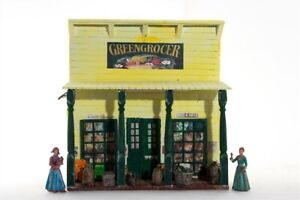 Potters-Old-West-Town-3037-Greengrocer-Wild-West-zu-7cm-Sammelfiguren-Fertigm