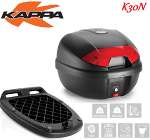 Kappa K30n Bauletto 30lt+piastra Universale Piaggio Beverly 400 Ie Belle Apparence