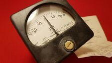 Analog Amper Meter Head Soviet Ussr Extreme Edition Rubber 25ua 0 25ua New